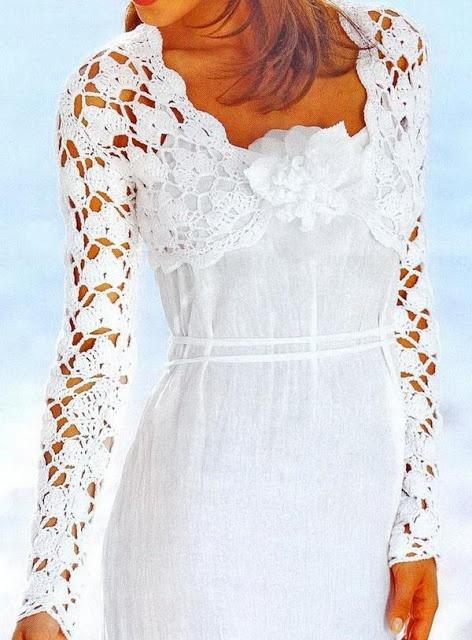 192 Best Crochet Boleros Images On Pinterest Crochet Boleros