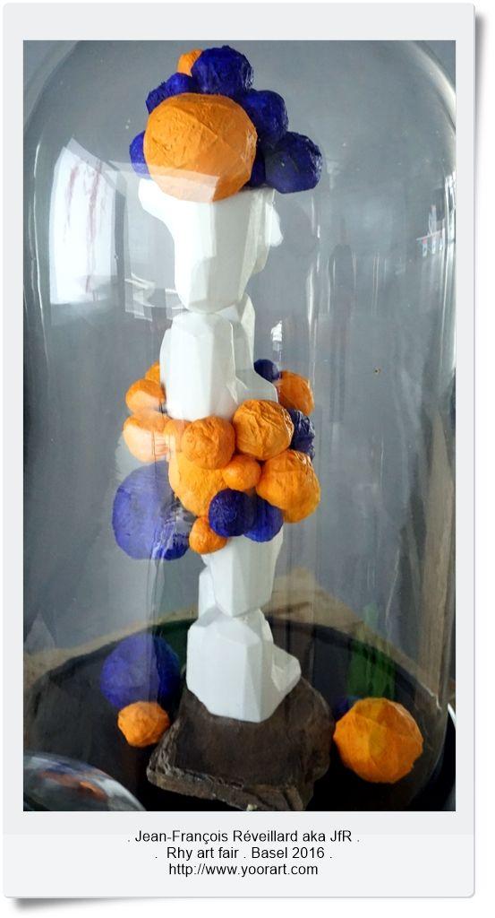 Tchouri particles. 3Dprint sculpture mixed media. 2016