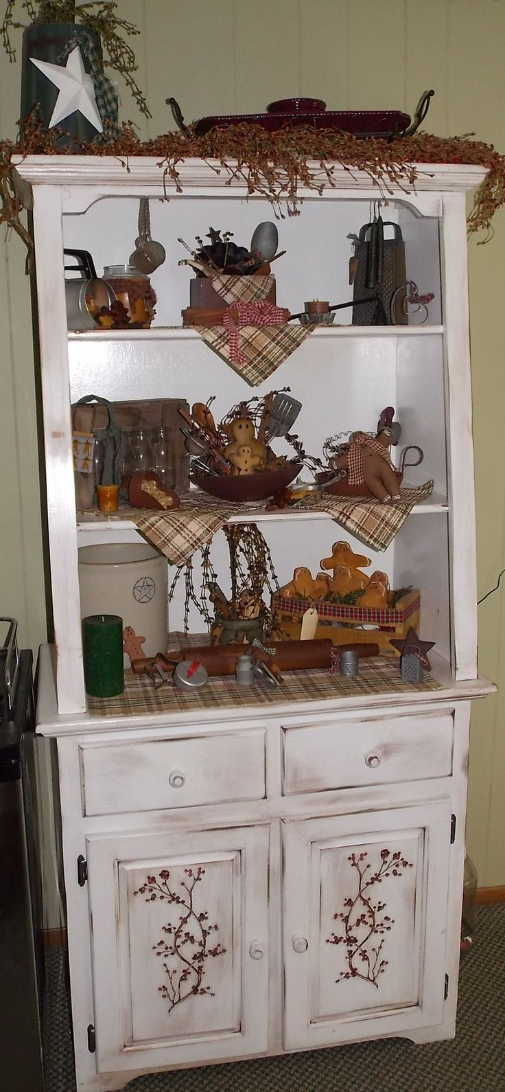 Country Hutch. I would have stars on the front instead of the berries. Still adorable regardless :)