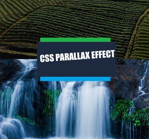 """CSS parallax scrolling website effect code with example   I loved the concept of CSS parallax scrolling website. And today I am sharing the css only parallax scrolling website effect code. Copy the code below and paste it in the notepad now save the file with .html extension and see the beautiful result.  CSS parallax scrolling website effect code  <div id=""""title"""" class=""""slide header"""">  <h1>Pure CSS Parallax</h1> </div> <div id=""""slide1"""" class=""""slide"""">  <div class=""""title"""">   <h1>Slide 1</h1…"""