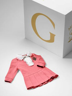 Preppy-chic from Gucci baby