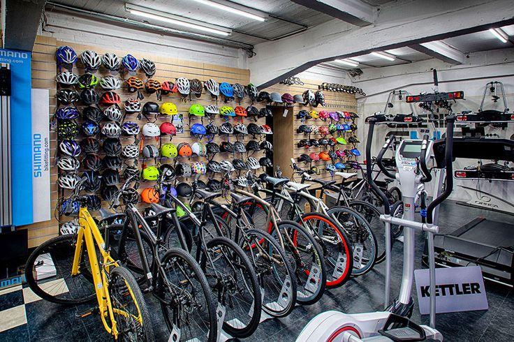 Casques et vélos d'appartements