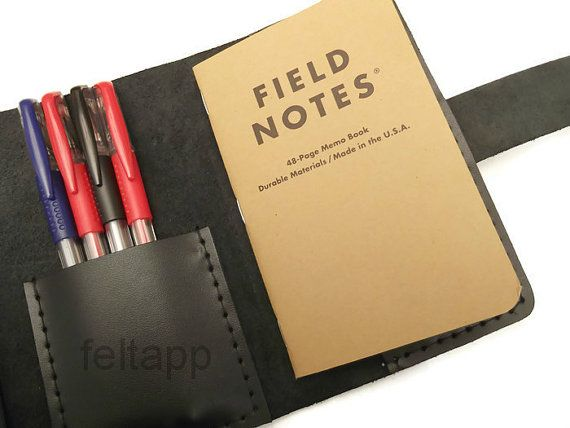 Cover for Field Notes Notebook Cover  Travel Journal Wallet