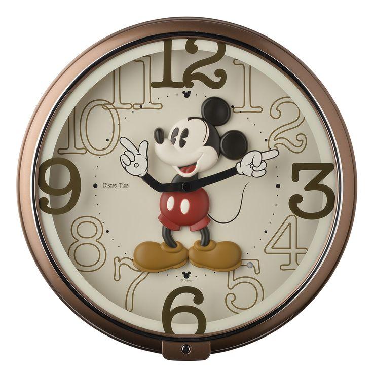 Lovely Time with Disney ~Interior : ★ディズニーの 掛け時計 (電波 ... ディズニー 時計 ミッキー メロディ 掛け時計 おしゃれ かわいい モダン