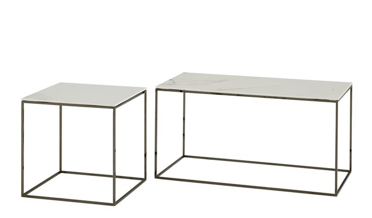 These smart new SPACE range of occasional tables are available in sizes 35x35 from £366, 35x69 from £460 and 99x99cm from £936. Featuring our brand new highly durable 6mm ceramic stoneware composite tops. Available in white, white marble-effect and anthracite. Under frames in matt white or black chrome.