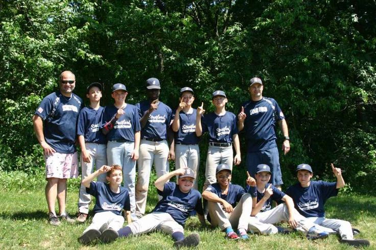 The Stratford 13U Babe Ruth Navy team won the Fairfield County Babe Ruth League Championship on June 19 at Unity Park in Trumbull. Team members include, front row, from left, Ethan David, Paul Lagerfeld, DJ Bennett, Lucas Smith and Kyle Shannon. Second row, coach Bob David, Tommy Shannon, Anthony Gabriele, Nate Smith, Michael Gramse, Ivan Martinez and manager Tom Smith. Photo: Contributed / Contributed Photo / Contributed photo