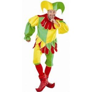 Costume Déguisement Bouffon Fou du Roi Homme Deluxe