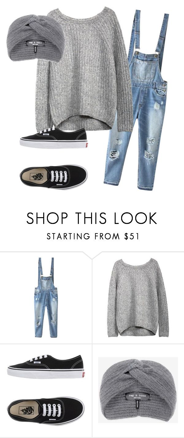 """""""Untitled #1"""" by kennedyk13 ❤ liked on Polyvore featuring Relaxfeel, Vans and rag & bone"""