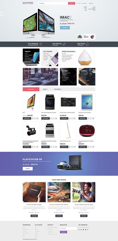 572 best Ecommerce Templates images on Pinterest | Design web ...