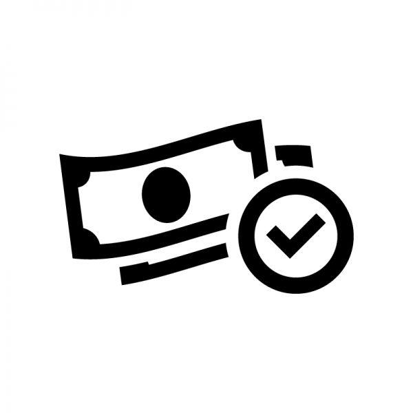 送金 アイコン お金 金融 お札 お金チェック 投資 紙幣 金融 銀行 アイコン ロゴデザイン 金融