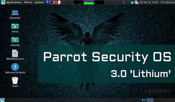 """Parrot Security OS 3.0 """"Lithium"""": tu kit de herramientas para hacking # Ya hemos hablado en numerosas ocasiones de distribuciones Linux como Kali Linux, DEFT o Santoku, centradas en la seguridad. Son distros que incorporan una gran cantidad de apps preinstaladoras para realizar auditorías de seguridad, análisis ... »"""