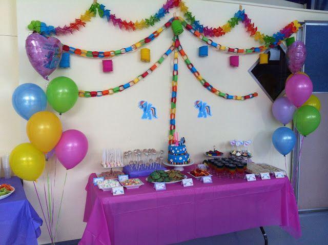 Chic Mummy: My Little Pony Rainbow Dash Birthday Party