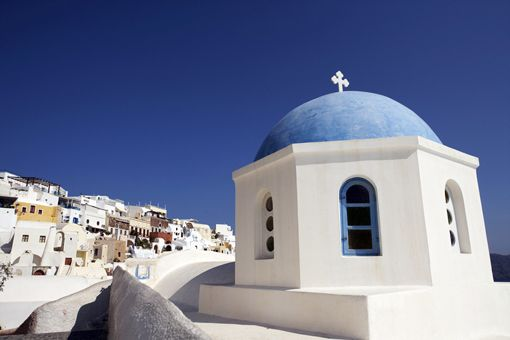 Visit Greece Church in Santorini #DreamYourGreece #VisitGreece #Expedia