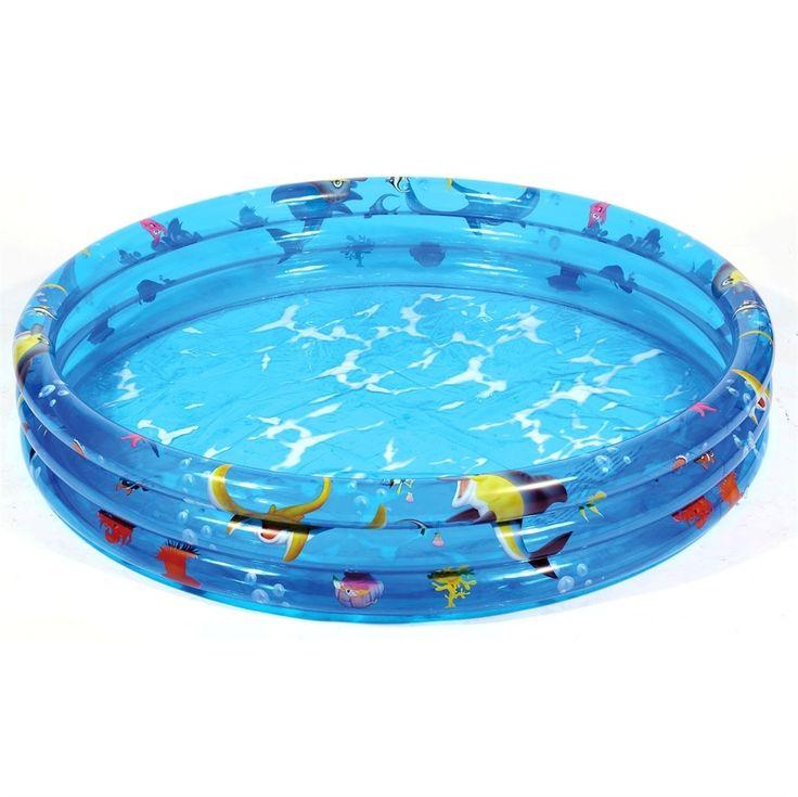 Svømmebassin uden pvc, 100cm