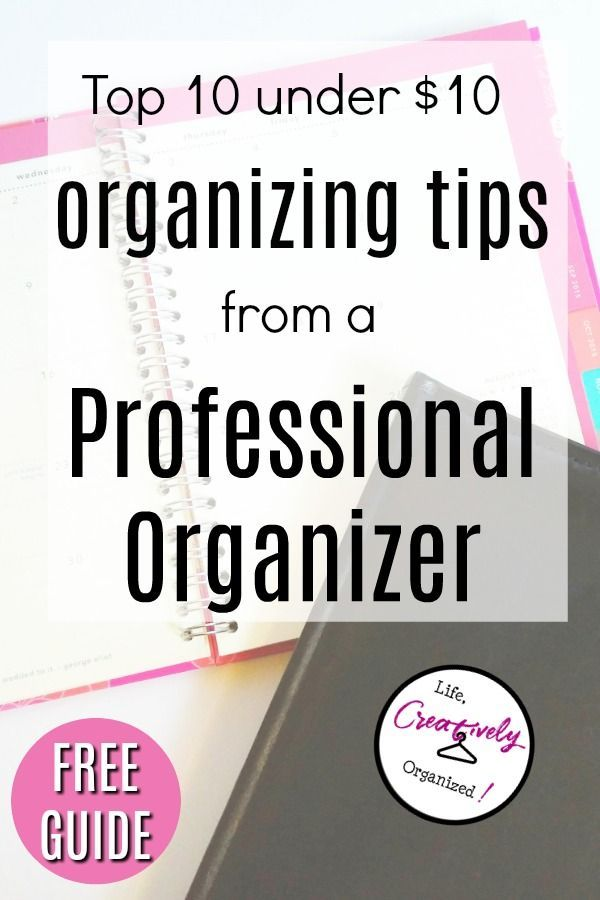 Get Your Free Organizing Tips Free Organization Organization Hacks Organization