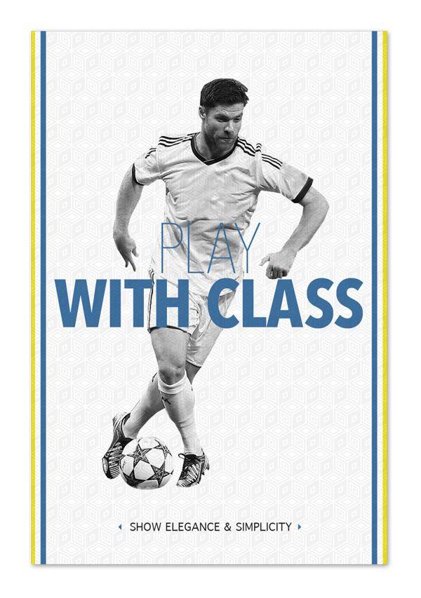 Play like a football master by E S, via Behance