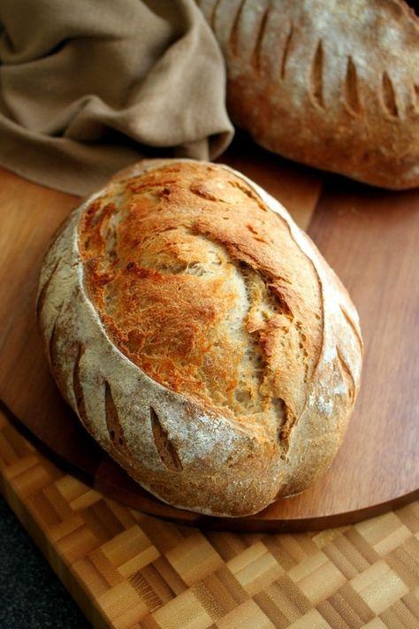EN & DE: Farmers Bread with Spelt and Rye Flour   Bauernbrot mit Dinkel und Roggen