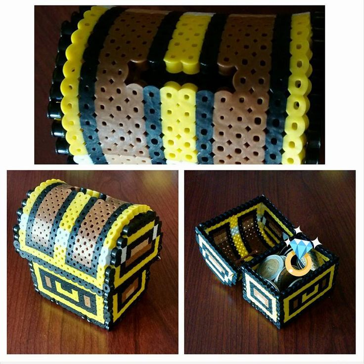 305 best images about 3d perler bead designs on