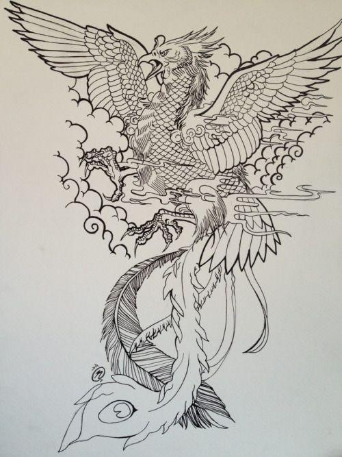 35 best phoenix japanese tattoo images on pinterest japanese tattoos phoenix bird tattoos and. Black Bedroom Furniture Sets. Home Design Ideas