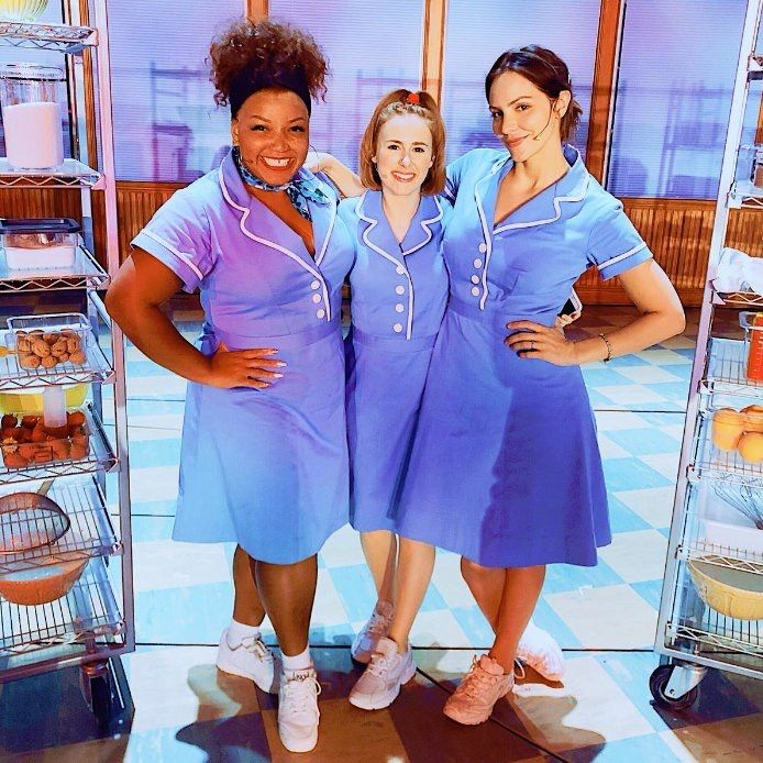 Waitress London Katharine Mcphee Marisha Wallace And Laura Baldwin Waitressmusical Waitress Musical Musical Theatre Shows Waitress