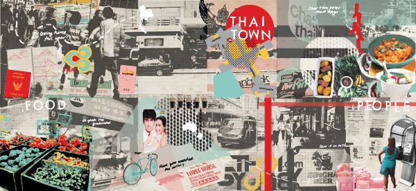 "® Nat Soontornvinate | ""Thaitown"", experimental graphics"