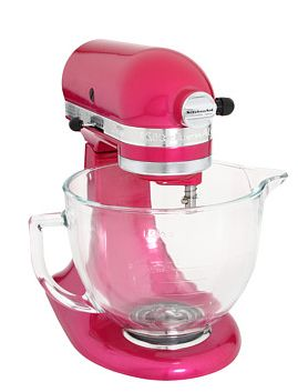 Pretty pink KitchenAid Mixer