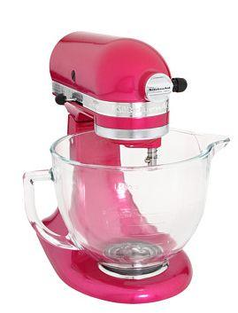 Pretty pink KitchenAid Mixer