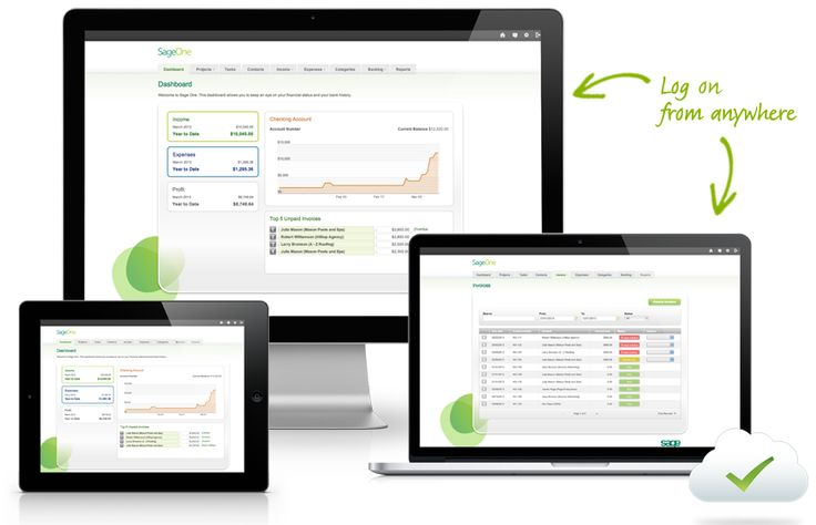 Sage One Online accounting, invoicing and task tracking Powerful - create invoice online