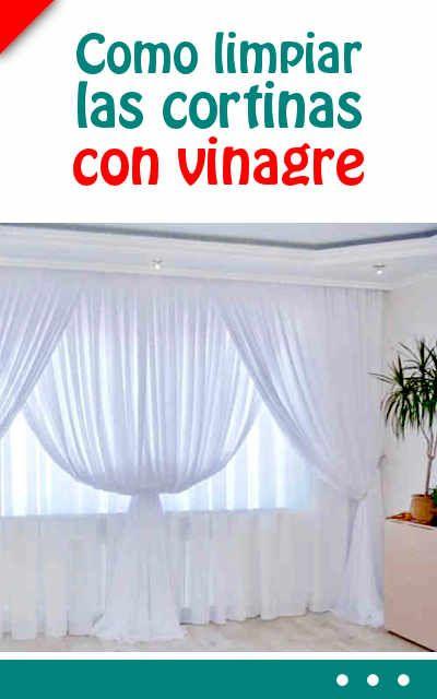 Como limpiar las cortinas con vinagre #limpiar #cortinas #blanquear #limpieza #lavado