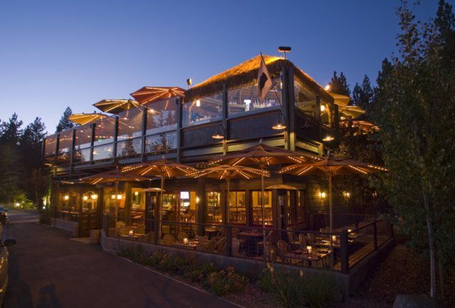 Best places to drink in North Tahoe via Thrillist -- Caliente: This Tex-Mex retreat in Kings Beach features one of the best rooftop patios in all of Tahoe-dom, plus is home to the 64oz El Campeon Margarita