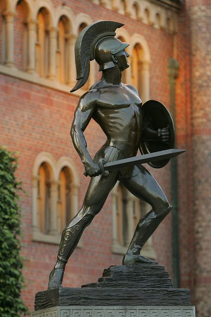 Tommy Trojan by USC | University of Southern California, via Flickr