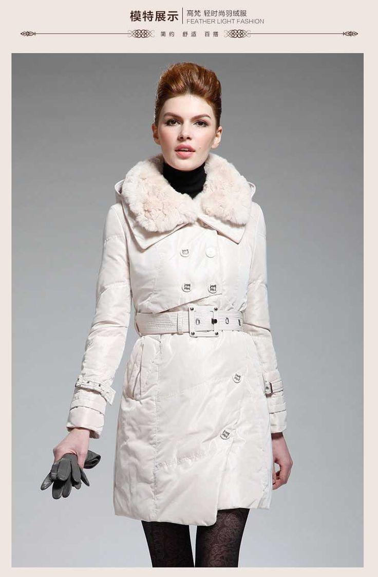 >> Click to Buy << New 2015 Winter Women Thicken Down Coat Warm Long Fur Coat Slim Down Cotton Padded Women Parka Coat Women Down Jacket H4222 #Affiliate