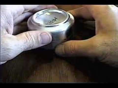 How To Create A DIY Stove Made From A Soda Can