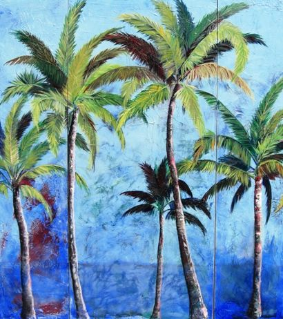 palm tree paintings