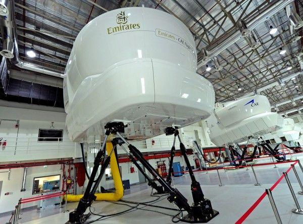 simulators inside the new ECFT facility at DSO
