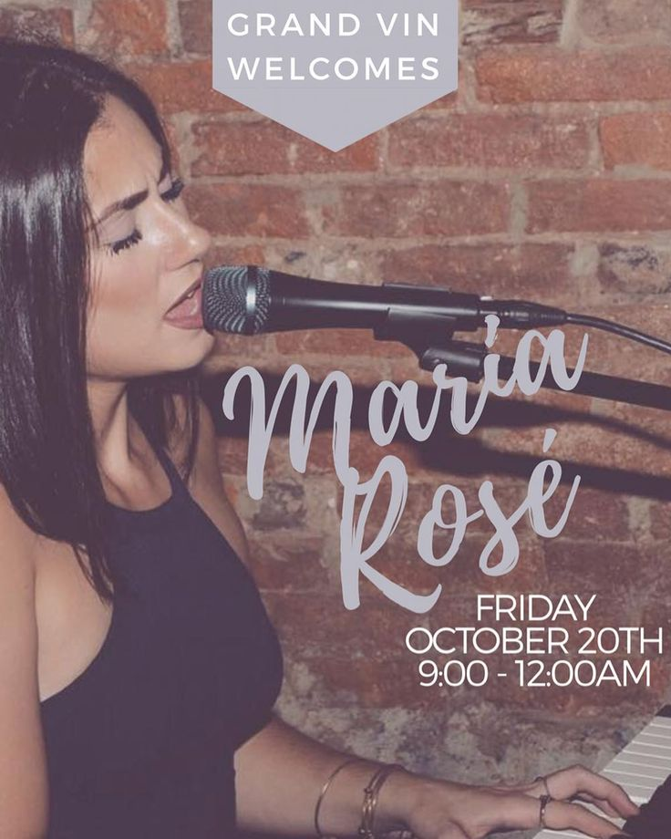 sing it girl  . NEW ARTIST ALERT . @mmmariarose . come celebrate R&B night | 9:00 - 12:00AM | reverse happy hour | $5 draught beer | $7 wine on tap | $7 specialty cocktail