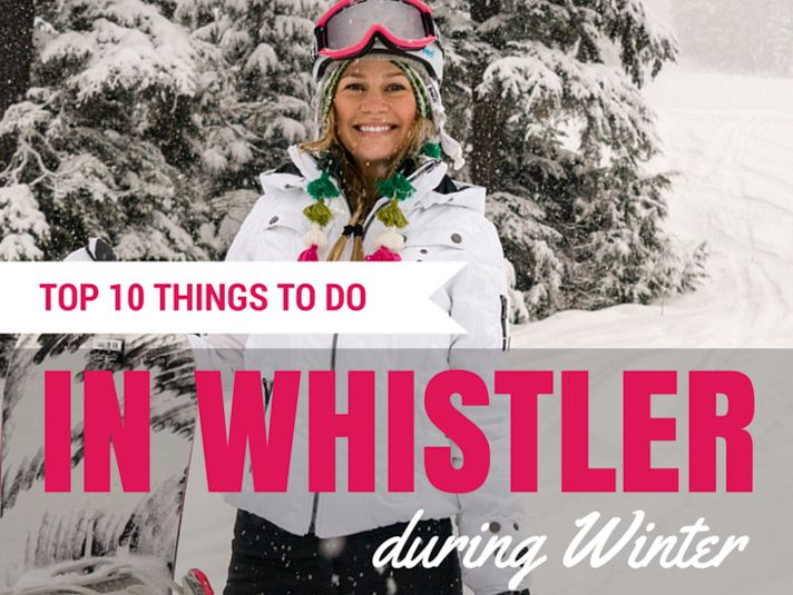 "I recently returned from a winter wonderland in Whistler. Not only was this my first trip to Canada, but I was also able to have a few other travel ""firsts,"" that included snowmobiling, flying in a helicopter and even dog sledding!"