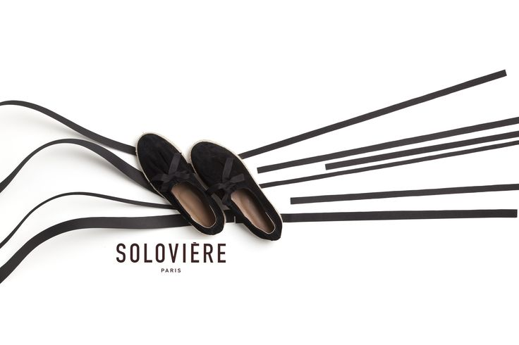 Soloviere shoes  graphic summer 17 campaign #espadrille #shoes #footwear #soloviere #black #graphic