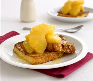 Brioche with Glazed Pineapple - think brunch on Christmas Day | Food ...