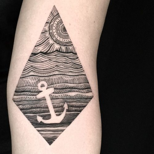 Significado Completo da Tatuagem de Âncora | +30 Exemplos