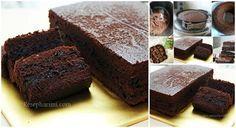 Brownies Milo kukus tanpa mixer