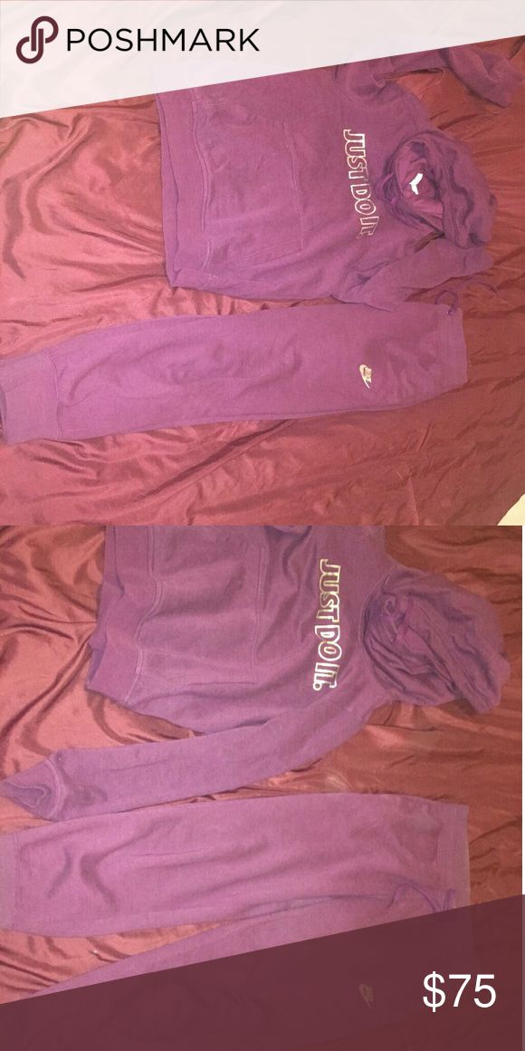 Nike jogging suit Worn once Great condition No stains Nike Other