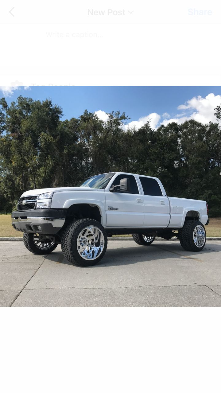 2007 chevy 2500hd duramax 24x16 specialty forged 24x16