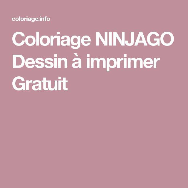 les 25 meilleures idées de la catégorie coloriage ninjago sur