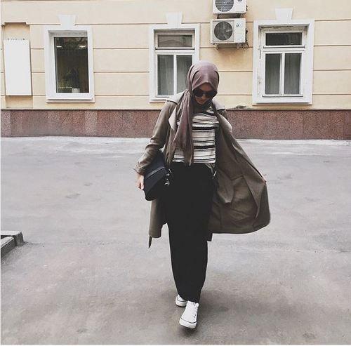 fashion, hijab, and alexandra golovkova image