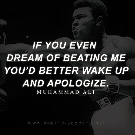 Muhammad Ali Top 10 Quotes: Best 25+ Muhammad Ali Quotes Ideas On Pinterest