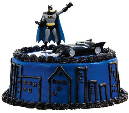 how to make a batmobile cake topper