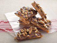 Toffee recipe from Betty Crocker - Homemade candy can be easy to make—just try this five-ingredient toffee. It's great for holiday gift-giving!