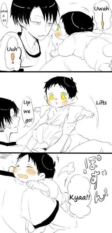 ~ Attack on Titan ~ :: Levi & Baby Eren ... Part 3 ...