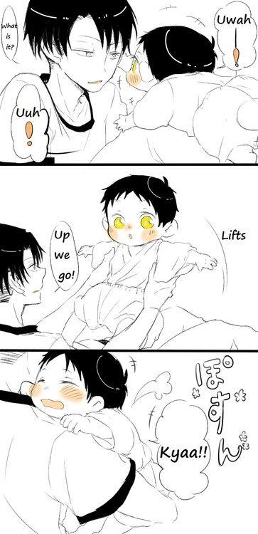 ~ Attack on Titan ~ :: Levi & Baby Eren ... Part 3 ...